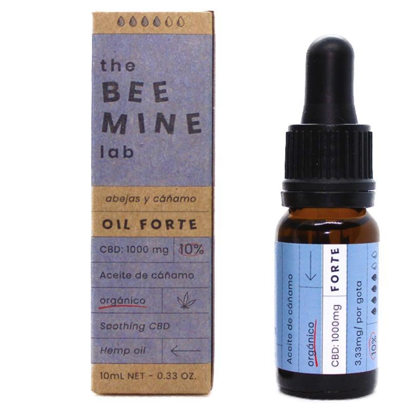 Aceite de cáñamo Forte con extracto CBD de The Beemine Lab