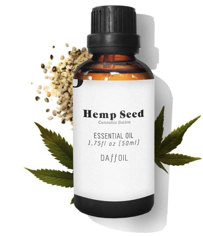 Aceite esencial de semilla de cáñamo bio de Daffoil