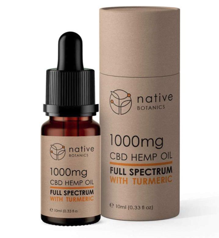 Extracto de cáñamo de espectro completo de Native Botanics