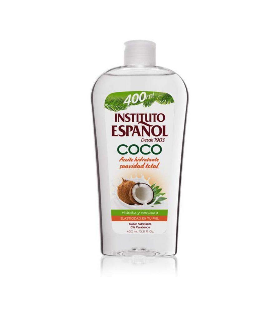 Aceite hidratante de coco de Instituto Español