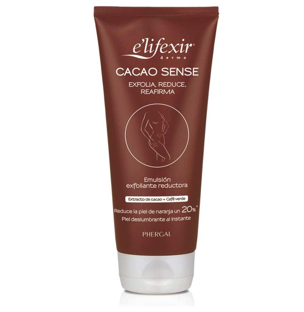 Exfoliante corporal de cacao de Elifexir - Reductor y reafirmante
