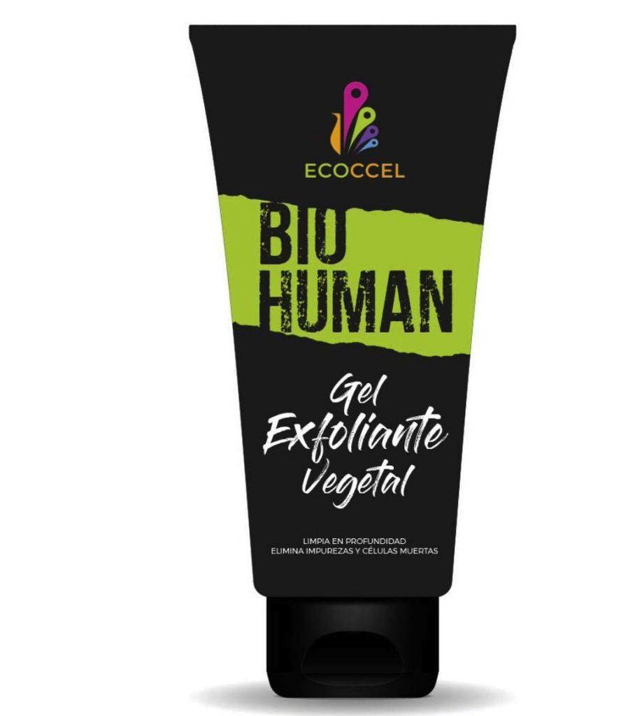 Gel de ducha exfoliante con ingredientes bio de Ecoccel