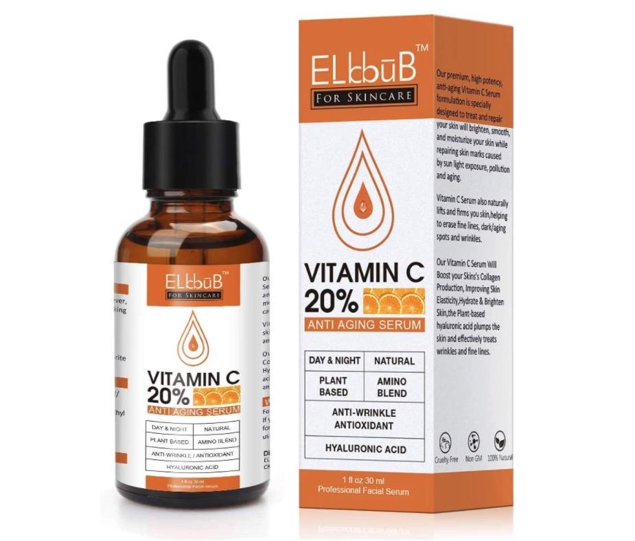 Sérum puro con 20% de vitamina C de Elbbub