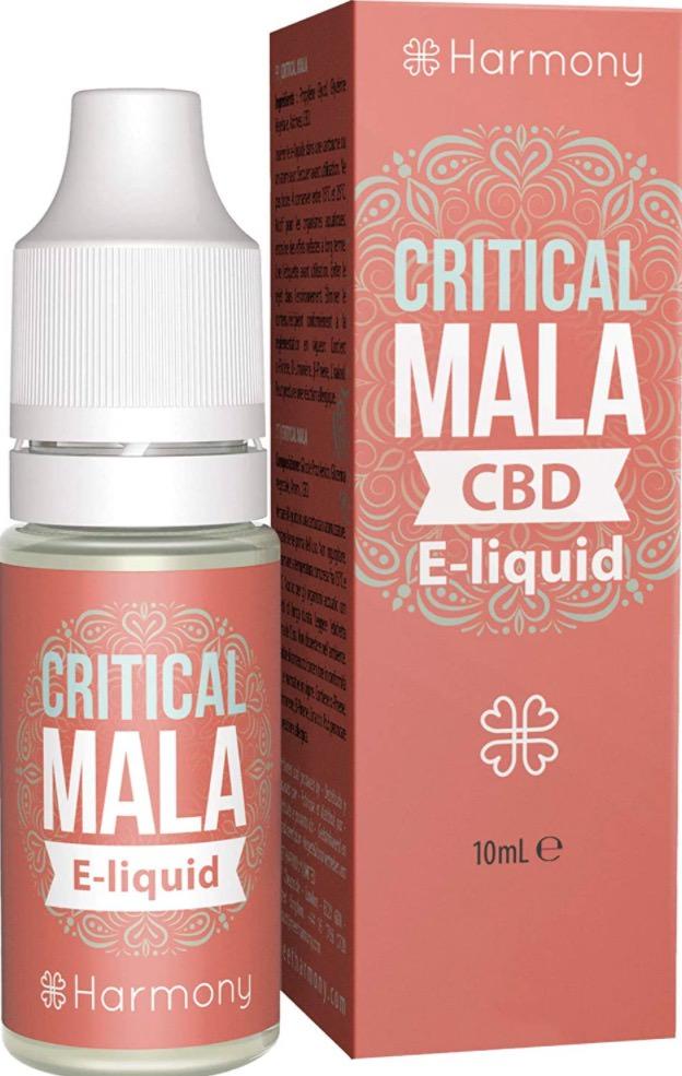 Harmony e-liquid CBD - Terpenos de Critical Mala