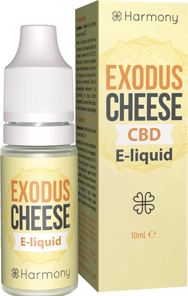 Harmony E-Liquid - Terpenos de Exodus Cheese