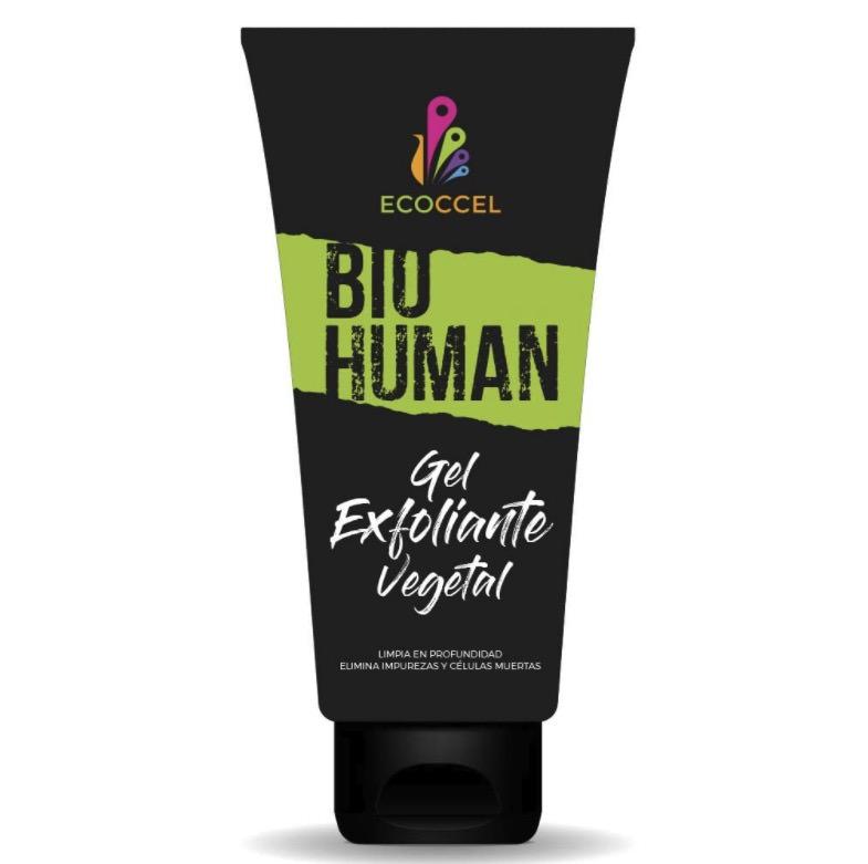 Gel exfoliante facial y corporal con ingredientes bio de Ecoccel