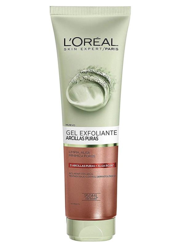 Gel limpiador exfoliante de L'Oreal Paris Dermo Expertise Arcillas puras