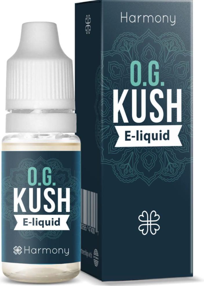 Harmony e-liquid CBD - Terpenos de OG Kush
